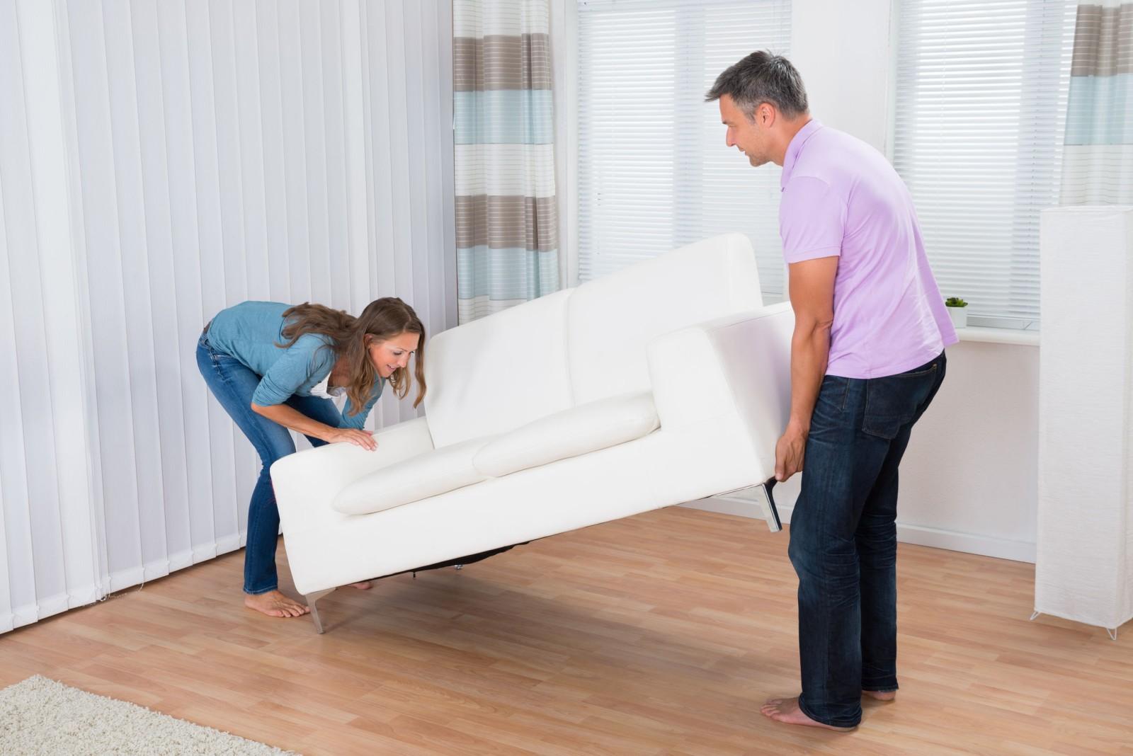 Bútor helyére kerül