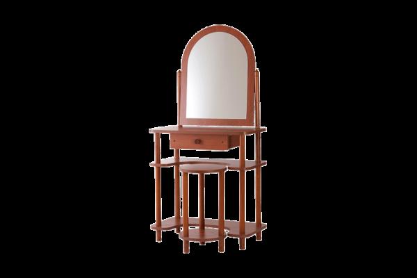 Tükrös fésülködő asztal calvados színben