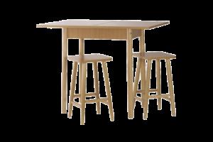 Szétnyitható konyhasztal 2 székkel