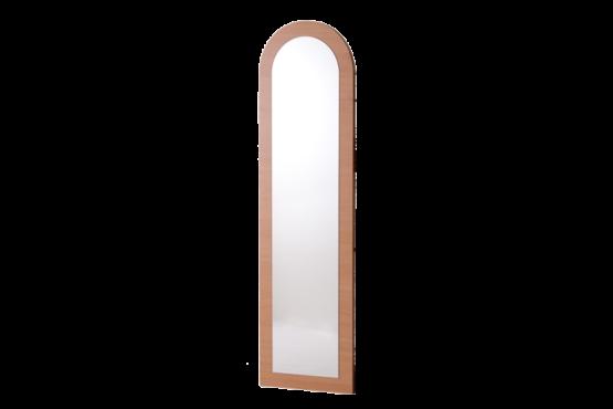 Íves alakú előszobafal csak tükörörrel