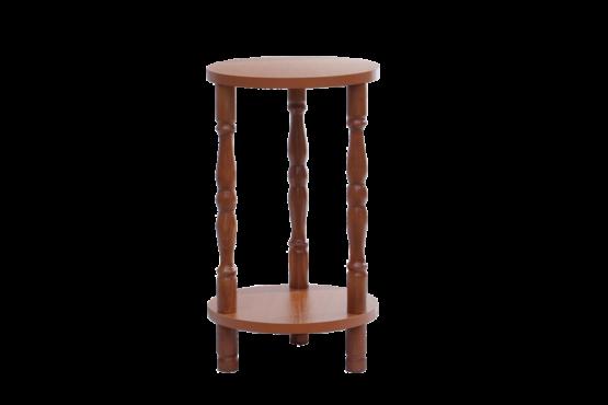 Sminkes asztalhoz szék esztergált rúddal
