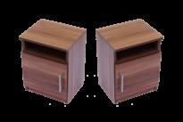 Éjjeli szekrények párban magyar szilva színben
